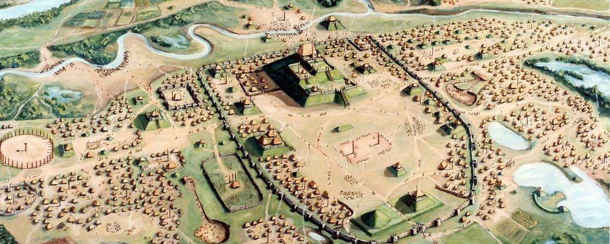 Você já ouviu falar em Cahokia, a primeira grande cidade norte-americana?
