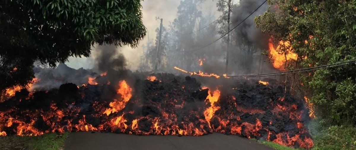 Imagens impressionantes mostram dimensão da última erupção do Kilauea