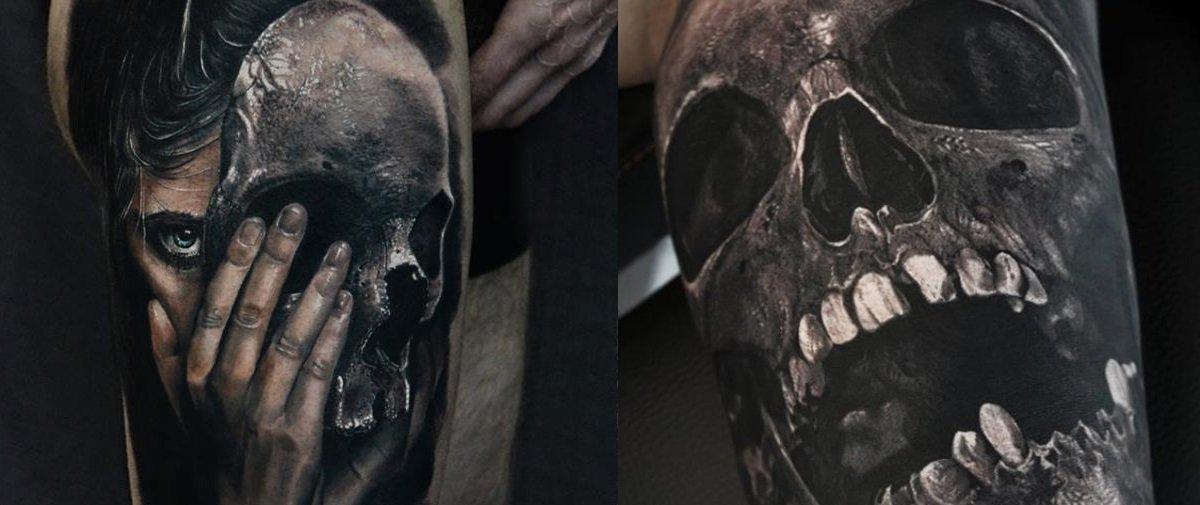 Este cara faz tatuagens tridimensionais insanas que parecem saltar da pele