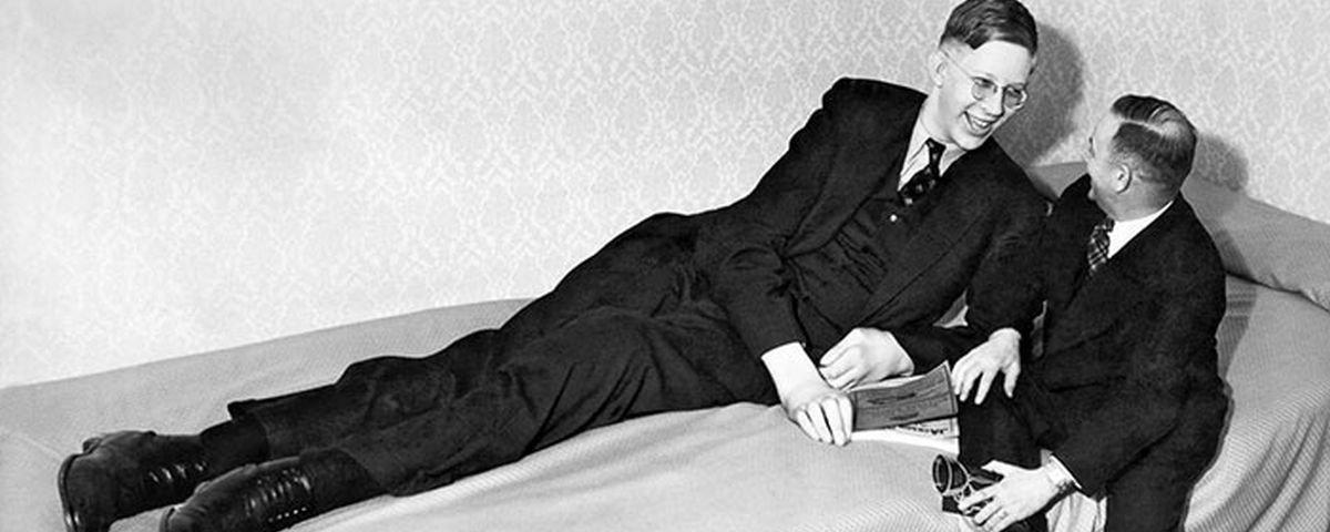A trágica história de Robert Wadlow, o homem mais alto de todos os tempos
