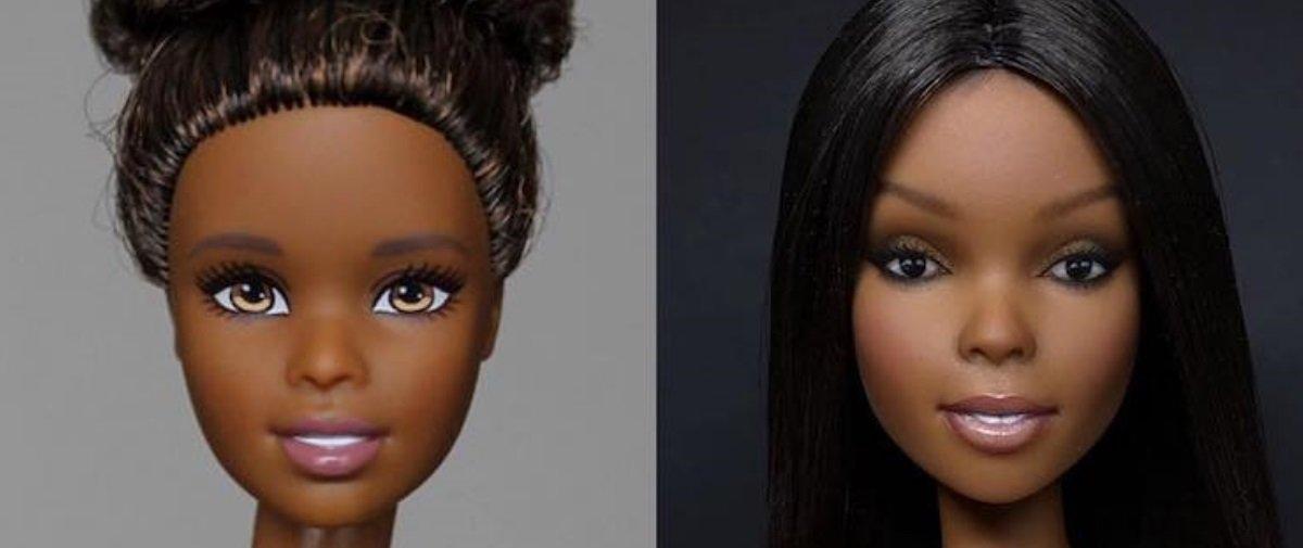 """Artista """"apaga"""" carinha de bonecas e recria rostos realistas incríveis"""