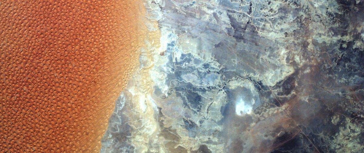 O Deserto do Saara visto do espaço parece uma obra de arte. Confira!