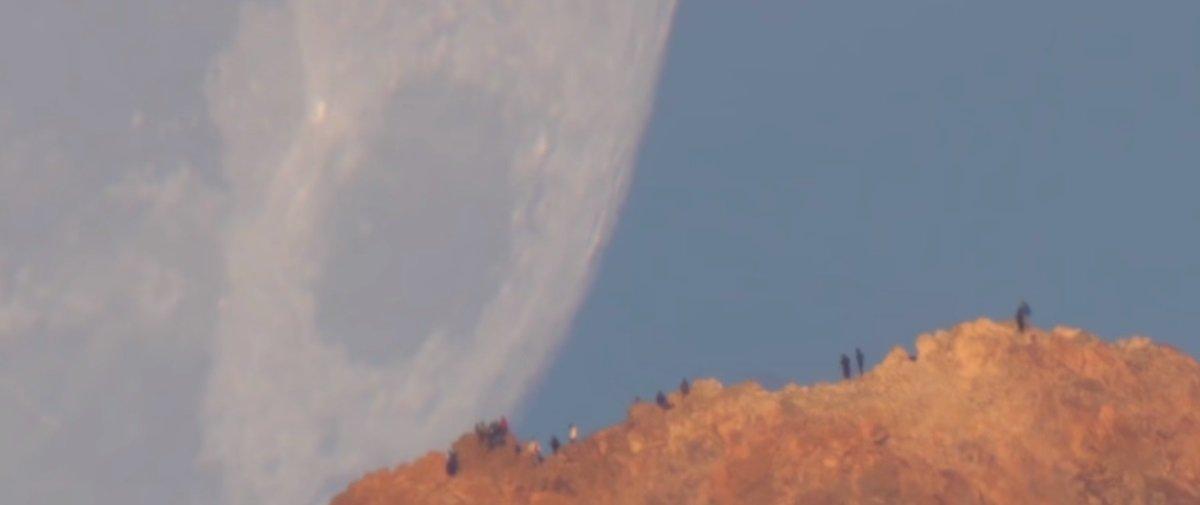 """Você pode não acreditar, mas esta imagem da Lua não foi """"photoshopada""""!"""