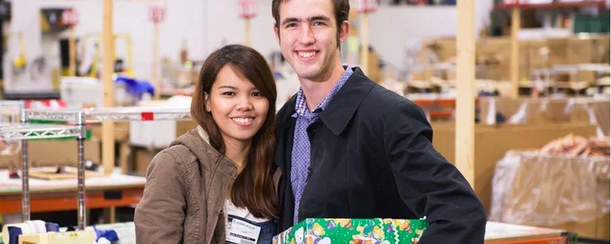 A história cinematográfica do casal que se conheceu por causa da caridade