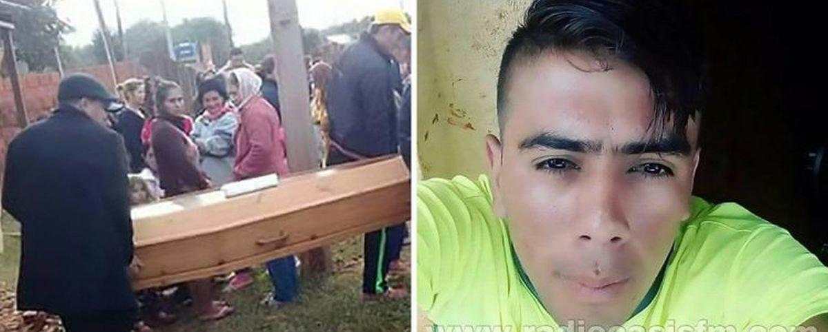 Paraguaio volta para casa e encontra a família no meio do seu funeral