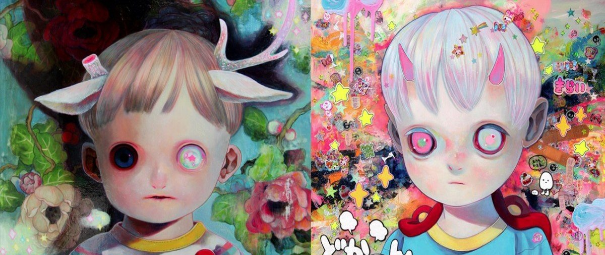 Ilustrações criadas por artista japonesa são ideais para uma Sexta-Feira 13