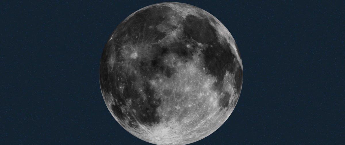 Novo estudo sugere que a Lua abrigou formas de vida há bilhões de anos