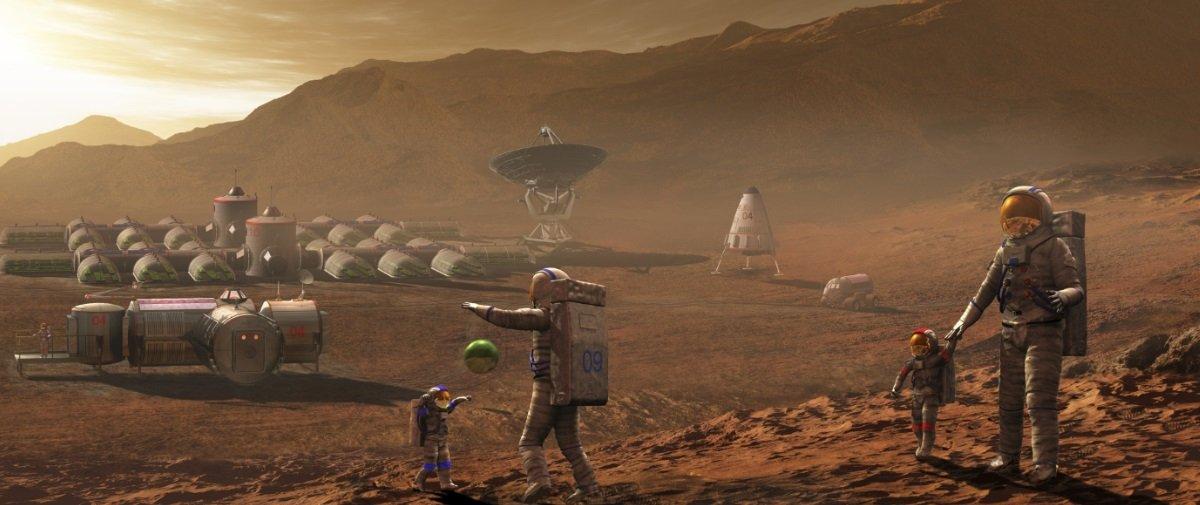 Balde de água fria: estudo aponta que vai ser bem difícil colonizar Marte
