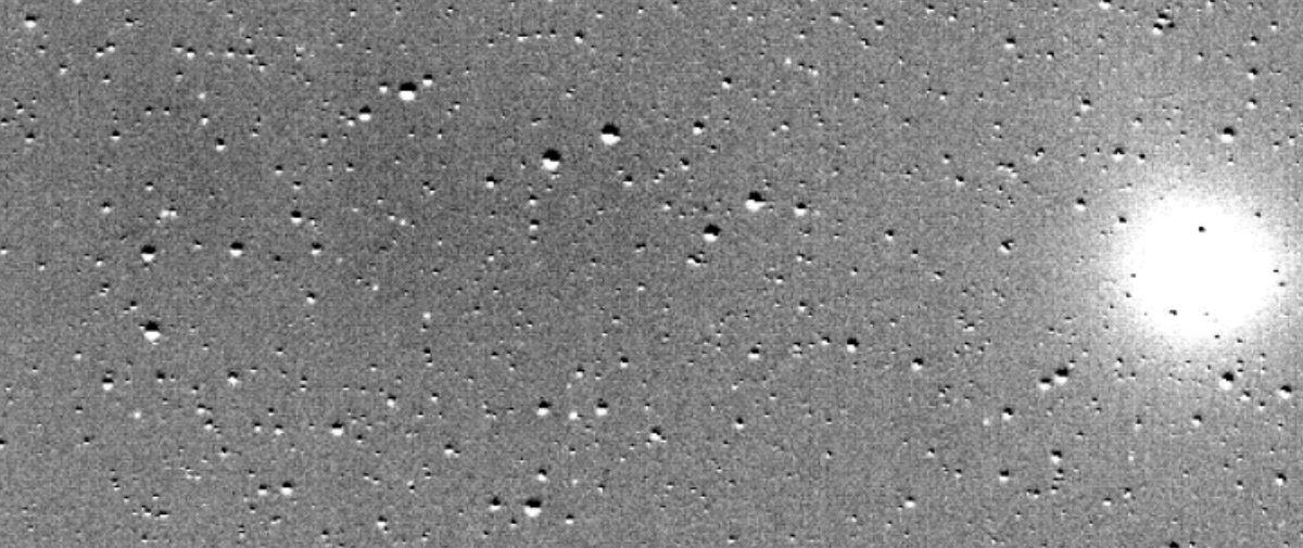Telescópio TESS captura imagens impressionantes de cometa no Sistema Solar