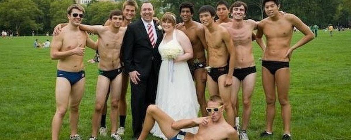 17 fotos inusitadas feitas em casamentos