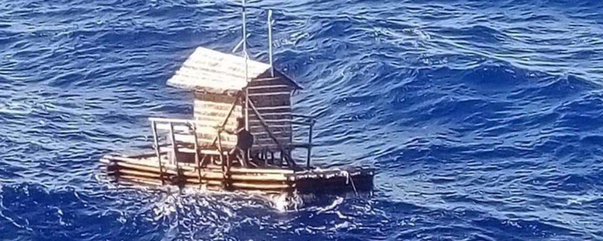 Jovem é resgatado após sobreviver durante 49 dias à deriva no Pacífico
