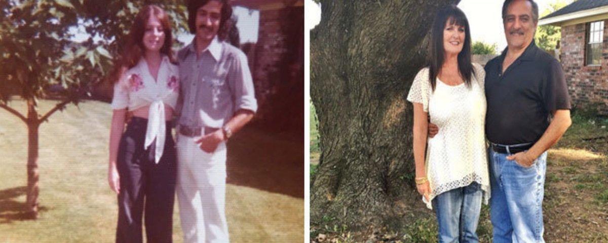Estes antes e depois mostram que o amor verdadeiro existe