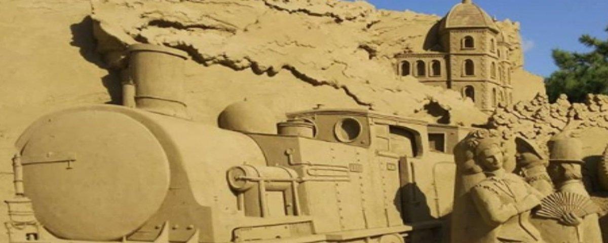 13 esculturas maravilhosas feitas com areia