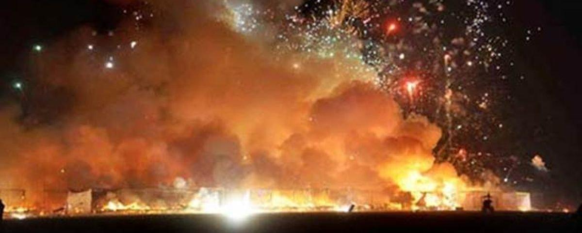 Fogos de artifício detonaram com a qualidade do ar em Nova Déli