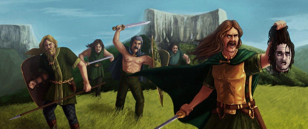 Sinistro: guerreiros gauleses embalsamavam as cabeças de seus inimigos