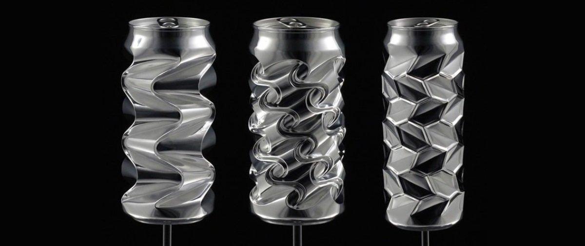 Arista cria as mais incríveis esculturas com latinhas de alumínio — e à mão