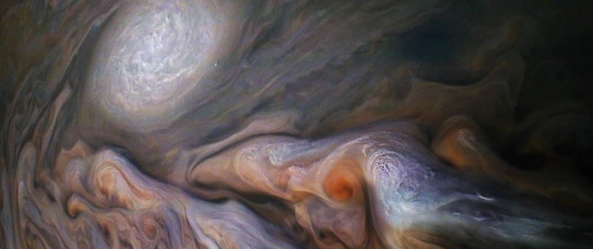 NASA deslumbra novamente com imagem espetacular de Júpiter