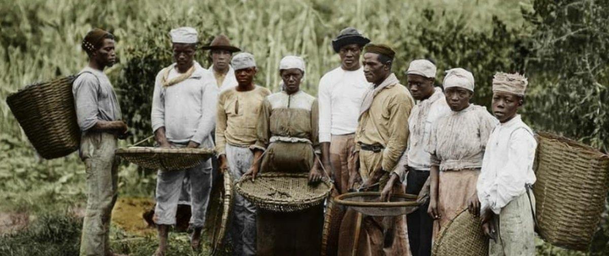 Tem Na Web - Designer coloriza fotos da escravidão ? e o resultado é impressionante!
