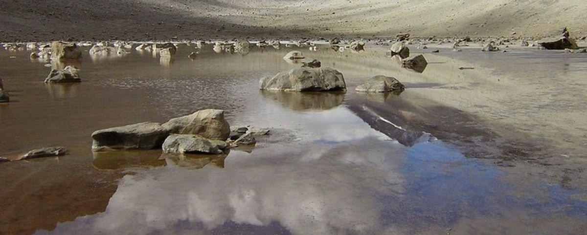 """Você sabia que o """"lago"""" mais salgado do mundo fica na Antártida?"""