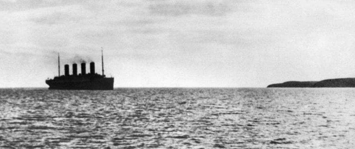 Tem Na Web - 21 fotos fascinantes capturadas antes e logo após o Titanic afundar
