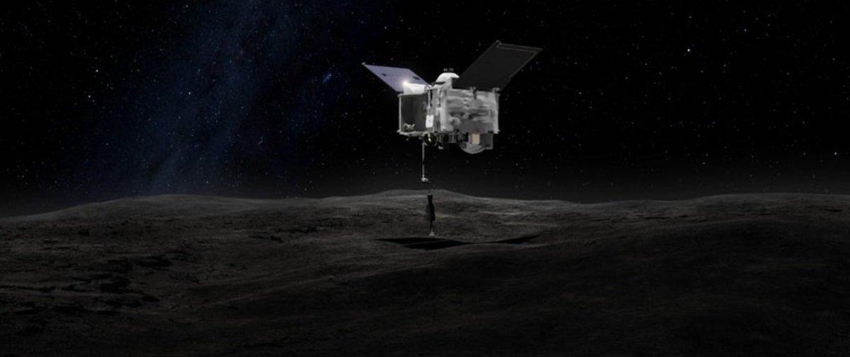 Após viajar 2 anos pelo cosmos, sonda da NASA finalmente chega a Bennu
