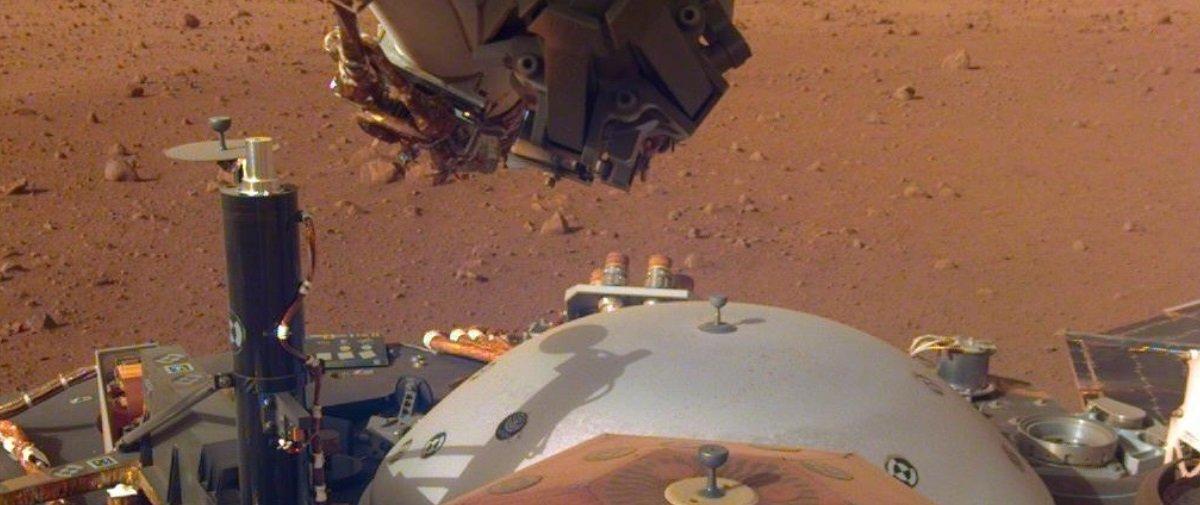 Quer ouvir o som do vento em Marte? A InSight, sonda da NASA, gravou!