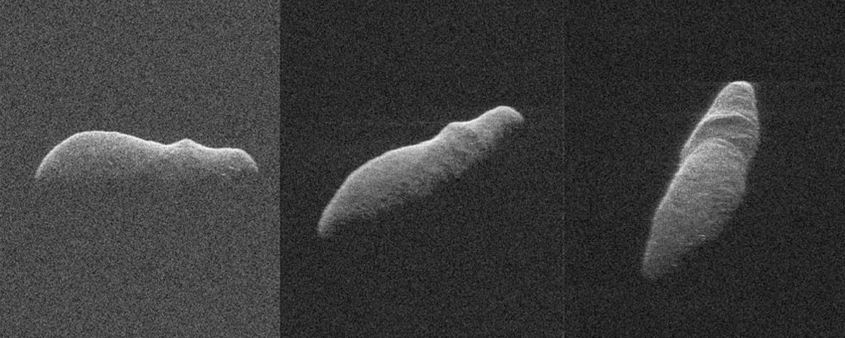 NASA flagra asteroide com formato de hipopótamo próximo à Terra