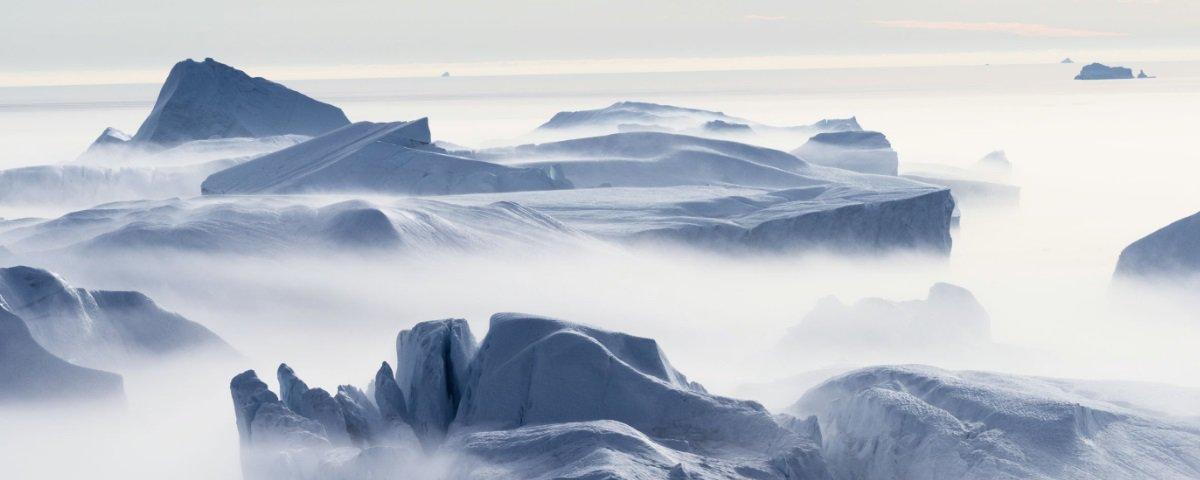 Descobriram uma imensa rede de lagos sob a Antártida e isso não é nada bom