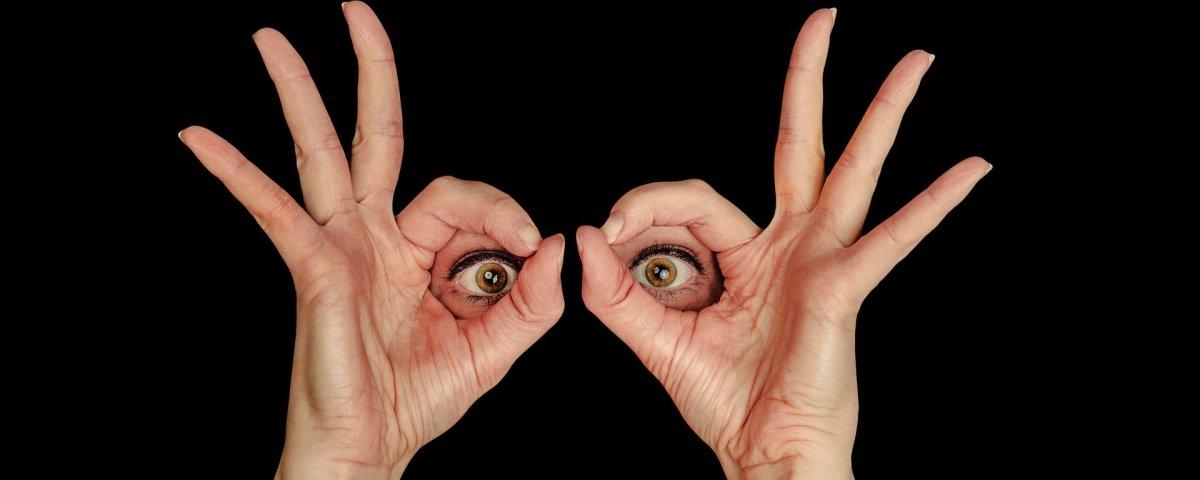 Você consegue imaginar como é o olho humano com a íris descolada?