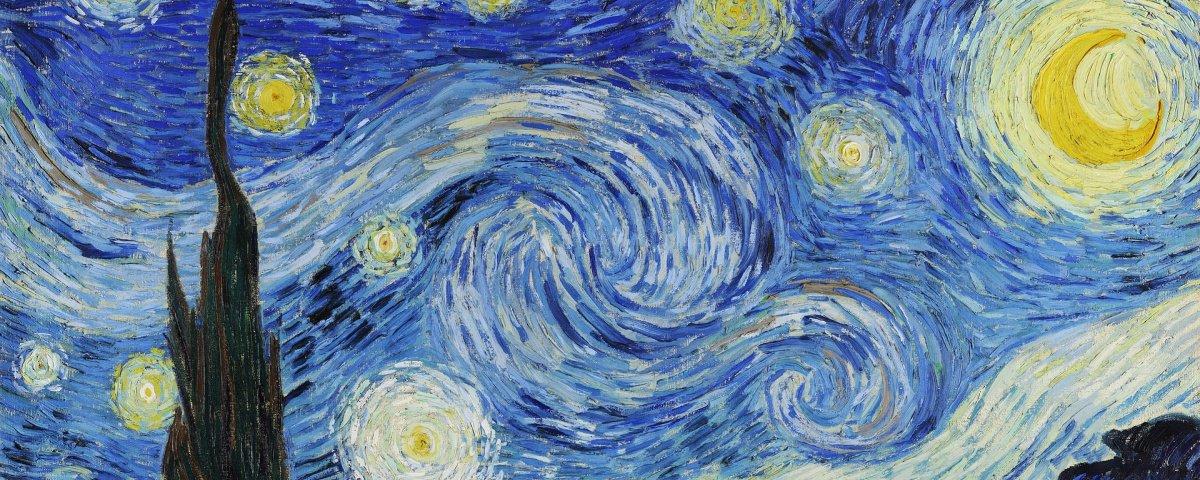 Artista adiciona lugares e personagens famosos em obra de Van Gogh