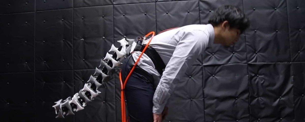 Arque: a cauda robótica vestível criada especialmente para seres humanos