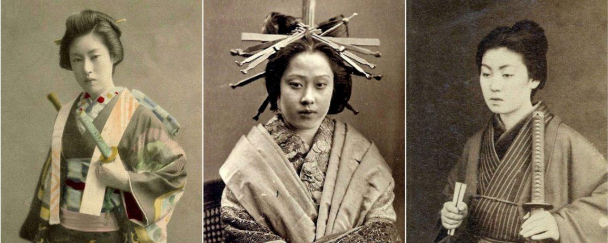 Você sabia que alguns dos samurais mais fatais eram mulheres?