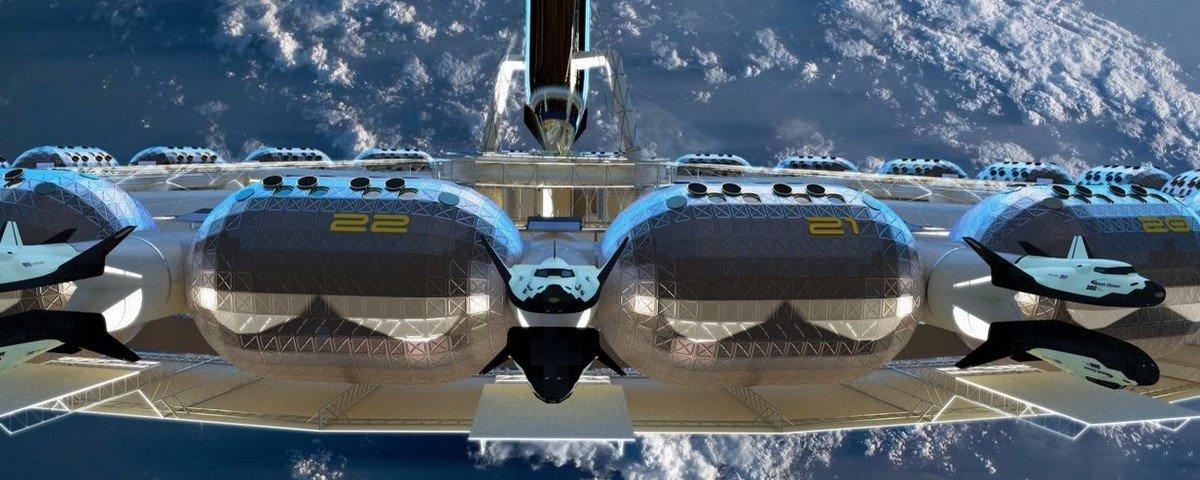 Hotel espacial na órbita da Terra pode funcionar já em 2025