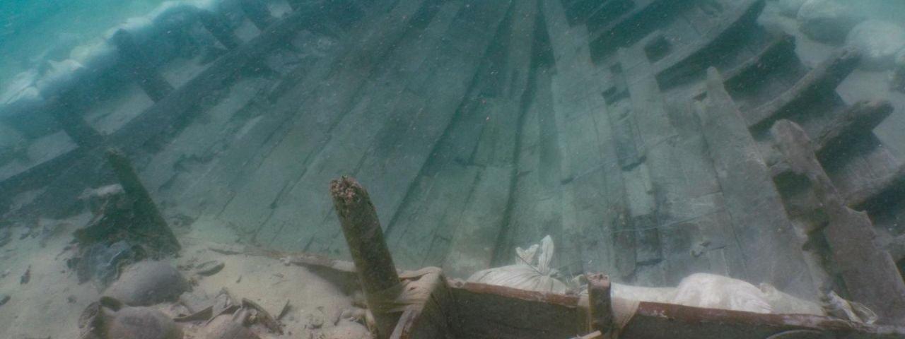 Barco romano afundado há 1,8 mil anos é achado no Mediterrâneo