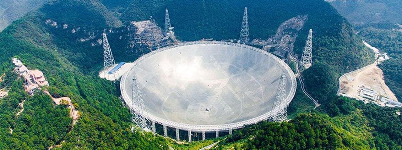 Maior telescópio do mundo está pronto para procurar alienígenas