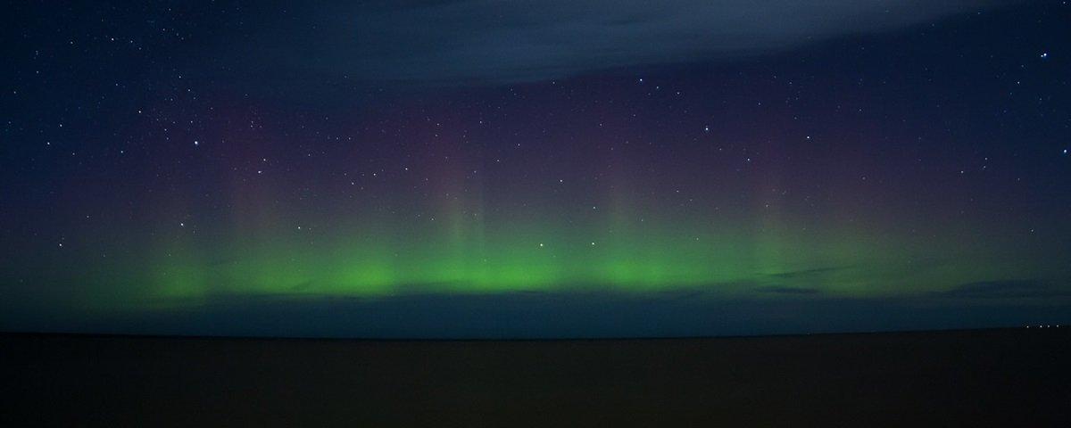Raras, ondas de gravidades são vistas na atmosfera da terra