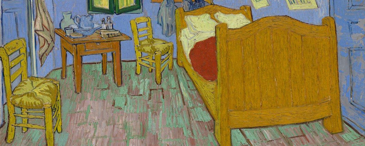 Como seriam os quartos de pinturas famosas na vida real?