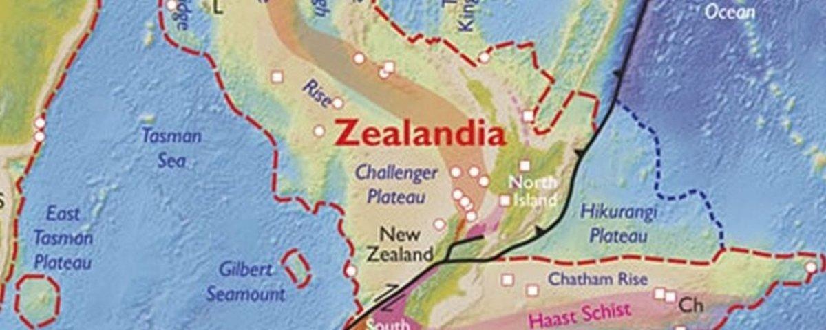 Segredos do continente perdido da Zelândia são revelados