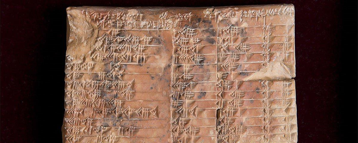 Pesquisa aponta a importância da Babilônia para a matemática