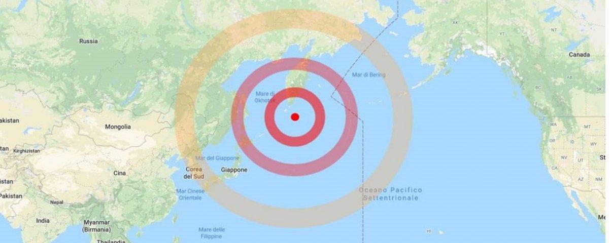 Rússia: terremoto de magnitude 7,5 atingiu as Ilhas Curilas