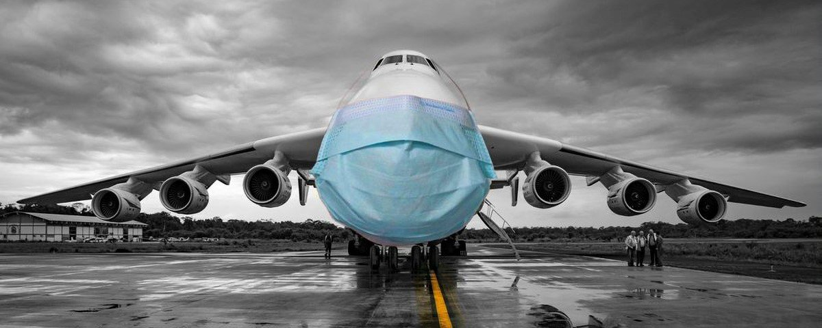 Maior avião do mundo volta à atividade
