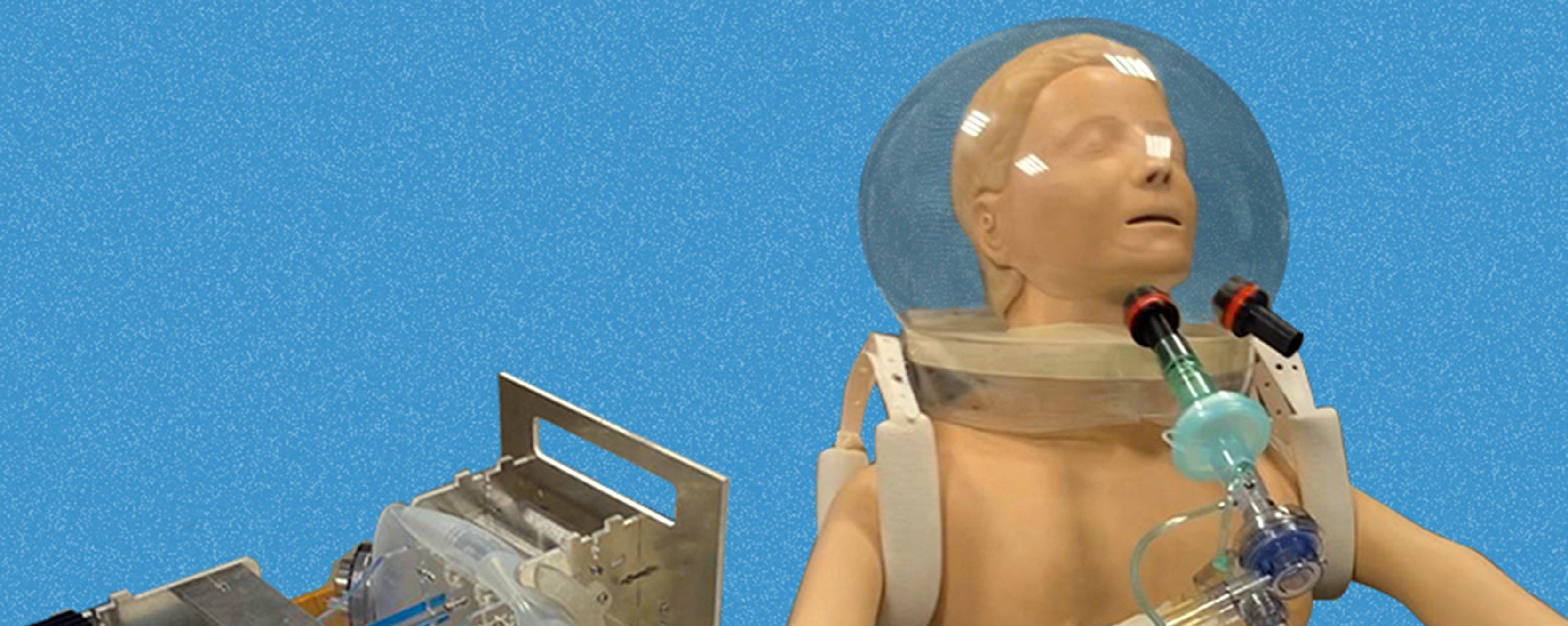Cientistas da USP criam capacete para tratamento da covid-19