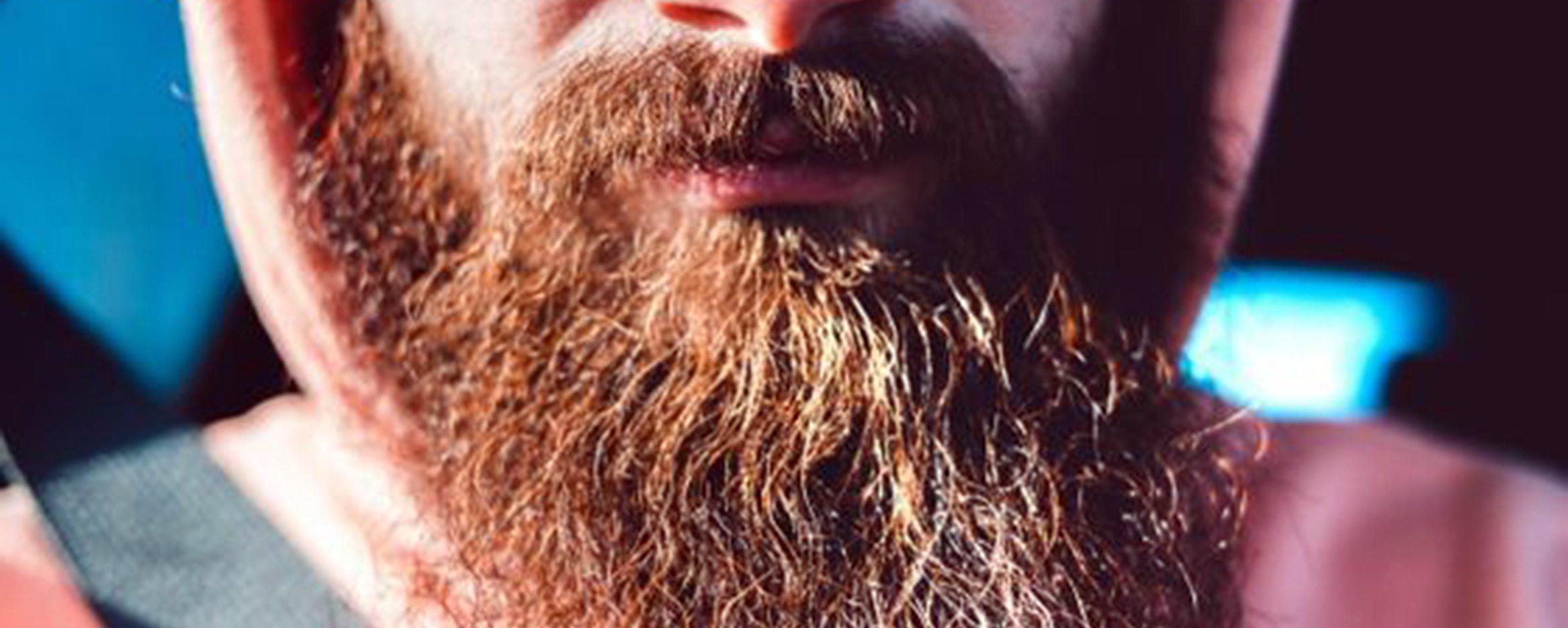 Será que a barba masculina serve para amenizar um soco no queixo?