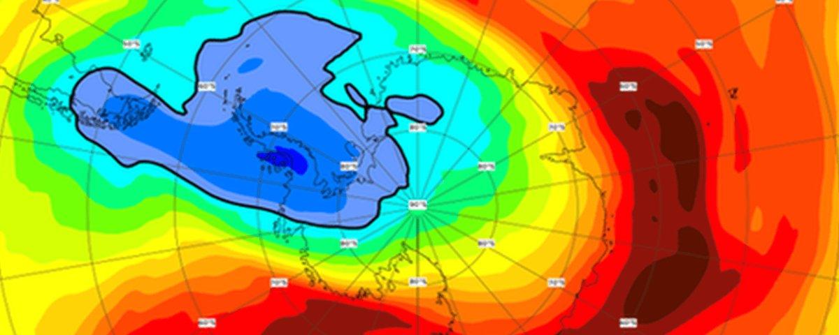 A cura da camada de ozônio pode ter gerado problemas ambientais