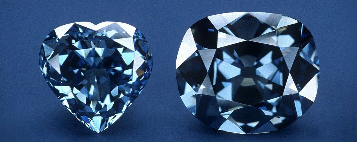 Os diamantes mais famosos do mundo nasceram perto do centro da Terra