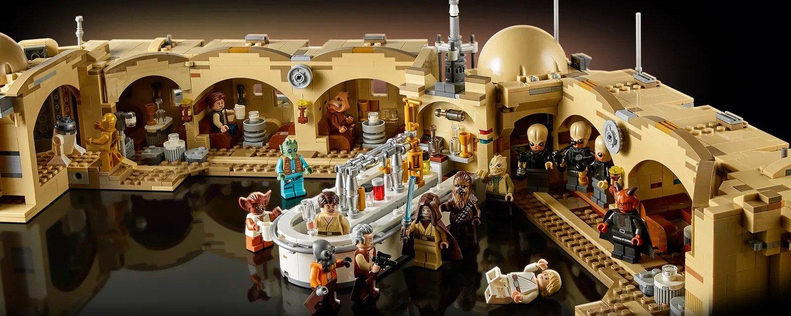 Confira o novo LEGO de Star Wars: a cantina de Mos Eisley
