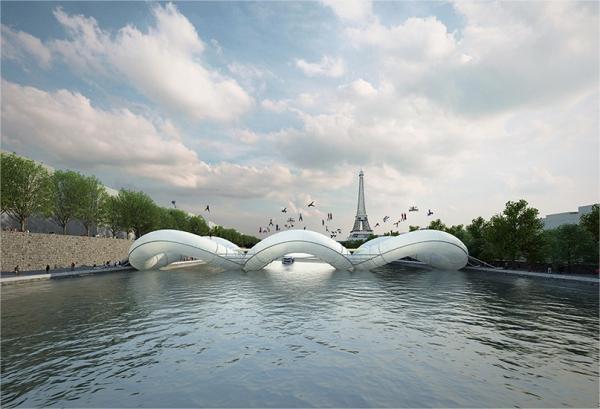 Ideia genial ou sem noção: ponte em forma de cama elástica