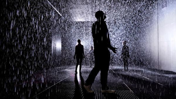 Quem disse que não dá para andar na chuva sem se molhar? [galeria]