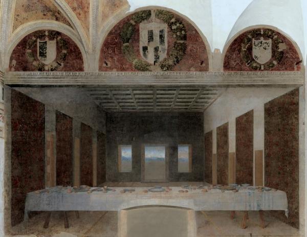 A Última Ceia, de Leonardo da Vinci, recriada por Bence Hajdu