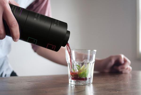 Nunca mais erre nos drinks com esta coqueteleira modular [galeria]